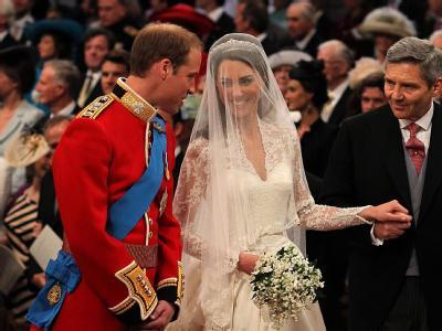 Der britische Prinz William hat seine langjährige Freundin Catherine Middleton geheiratet.