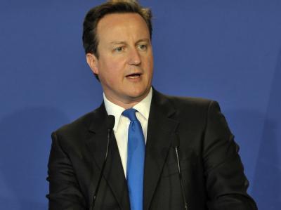 Großbritanniens Premier Cameron sieht sich nicht für die Eurozone verantwortlich. (Archivbild)