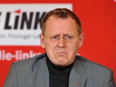 Auch der Rückzug von Bodo Ramelow, Spitzenkandidat der Linken, konnte SPD-Landeschef Matschie nicht zu einer rot-rot-grünen Koalition bewegen.