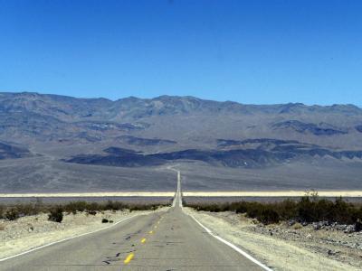 Das Tal des Todes ist die trockenste Region Nordamerikas. Hier wurden schon Hitzerekorde von über 56 Grad Celsius gemessen.