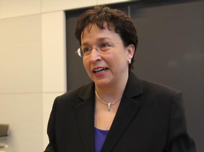 FDP-Fraktionschefin Birgit Homburger: «Es ist nicht zu erwarten, dass am Wochenende unser Konzept steht.»