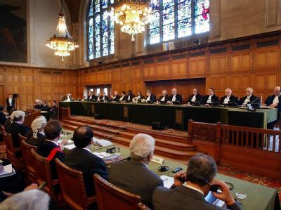 Sitzung des internationalen Gerichtshof in Den Haag (Archivbild).