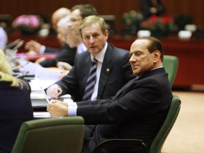 Nach langem Ringen hat sich seine Regierung geeinigt: Italiens Premierminister Silvio Berlusconi. Foto: Olivier Hoslet