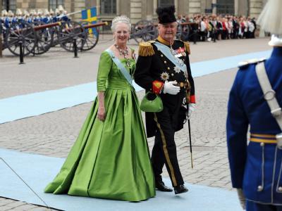 Königin Margrethe II. und Prinz Henrik