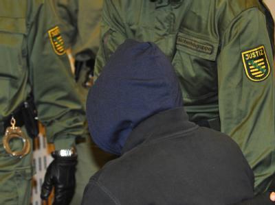 Angeklagter in Dresden