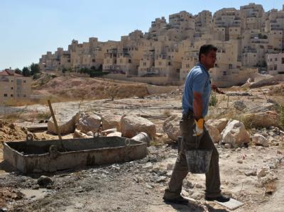 Bauarbeiten in Ost-Jerusalem