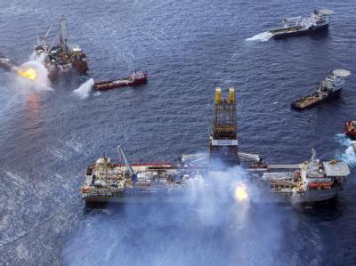 Kampf gegen Ölpest im Golf von Mexiko
