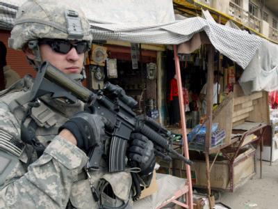 US-Soldat im Irak