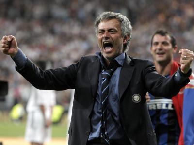 Totaler Triumph: Trotzdem könnte es für José Mourinho das letzte Spiel für Inter Mailand gewesen sein.
