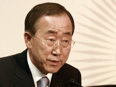 Hunderte Tote in Haiti? UN-Generalsekretär Ban Ki Moon: «Genaue Angaben haben wir nicht.»