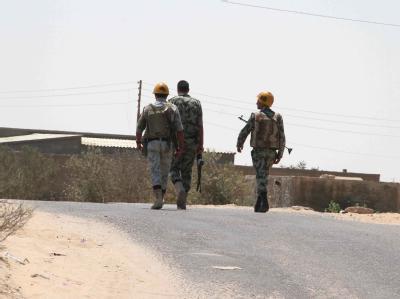 Soldaten in Sinai