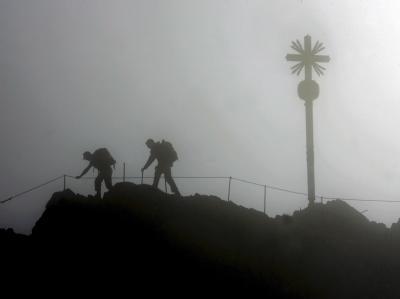 Zwei Bergsteiger sind auf der Zugspitze verschwunden, für sie besteht kaum noch Hoffnung. (Archivbild)