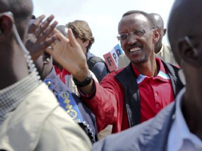 Ruandas Präsident Paul Kagame ist der aussichtsreichste Kandidat bei der Wahl in dem ostafrikanischen Land.