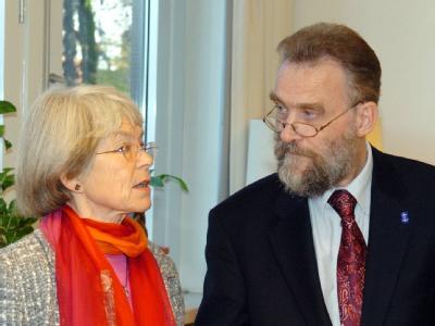 Maria Jepsen und Jürgen Bollmann