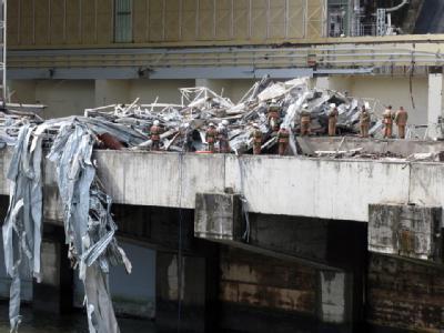 In dem Wasserkraftwerk in Sibirien kam es zu einer schweren Turbinenexplosion.