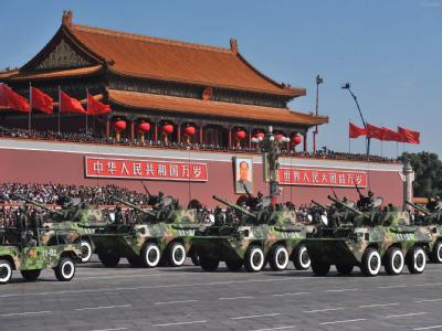 Gro�e Milit�rparade in Peking