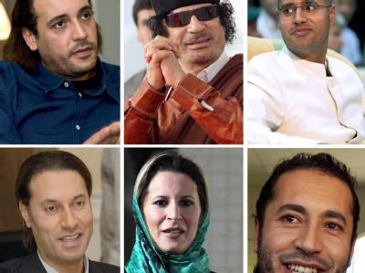 Mitglieder der Familie Gaddafi