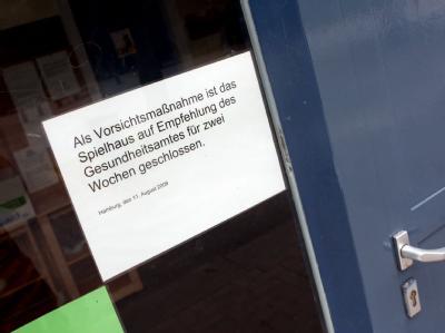Bereits 2009 war in Hamburg ein vierjähriger Junge gestorben, der sich höchstwahrscheinlich mit lebensgefährlichen EHEC-Keimen im Spielhaus Fahrenort infiziert hatte (Foto vom 11.08.2009).