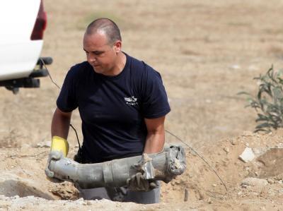 Palästinenser feuern Raketen auf Israel