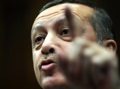 Droht mit weiteren Sanktionen gegen Frankreich: Der türkische Ministerpräsident Recep Tayyip Erdogan. Foto: Evrim Aydin/Anatolian Agency/Archiv
