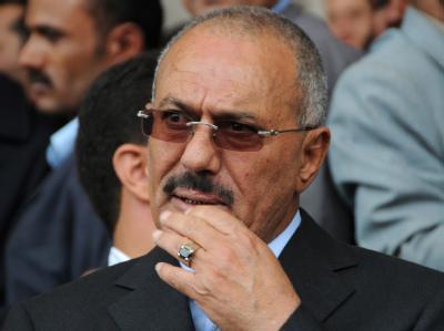 Der scheidende jemenitische Präsident Ali Abdullah Salih will sich in den USA behandeln lassen. Foto: epa/Archiv