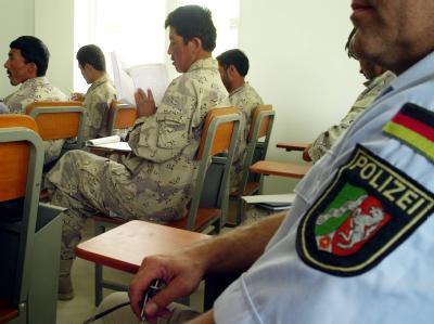 Polizistenausbildung in Afghanistan