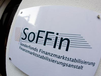 Sitz des Banken-Rettungsfonds SoFFin in Frankfurt am Main.