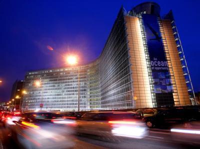 Machtzentrale: Das Gebäude der EU-Kommission in Brüssel.
