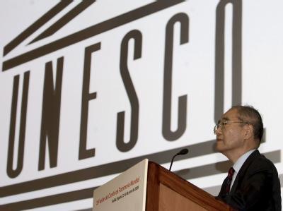 UNESCO-Generaldirektor Koichiro Matsuura. Das Welterbekomitee machte ernst und votierte für die Aberkennung des Welterbetitels für das Elbtal.