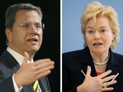 Bundesaußenminister Westerwelle will nicht, dass Vertriebenen-Präsidentin Steinbach Mitglied des Stiftungsrats der Vertriebenen-Gedenkstätte wird.