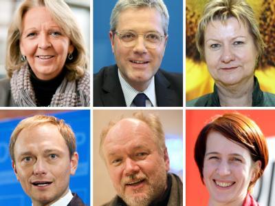 NRW-Spitzenkandidaten