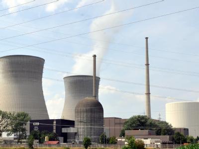 Das Kernkraftwerk in Gundremmingen (Schwaben). Foto: Stefan Puchner/Archiv