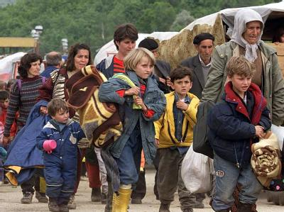 Kosovo-Flüchtlinge