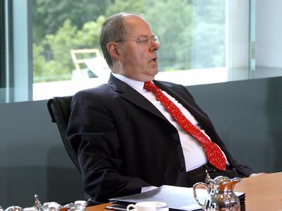 Bundesfinanzminister Peer Steinbrück. Der Staat braucht neue Kredite in Rekordhöhe.