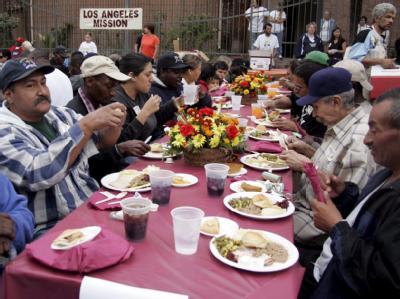 Essen für Obdachlose