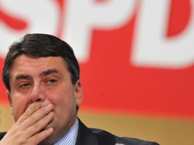 Der SPD-Vorsitzende Sigmar Gabriel.