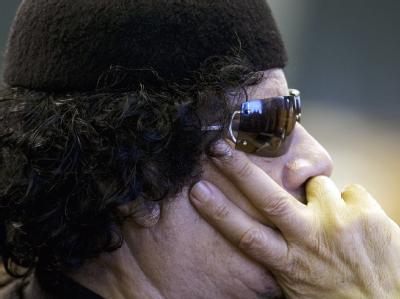 Libyens Staatschef Muammar al-Gaddafi (Archivbild)