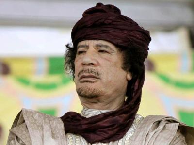 Muammar al-Gaddafi ist weiter untergetaucht, soll aber in bester Verfassung sein. (Archiv)
