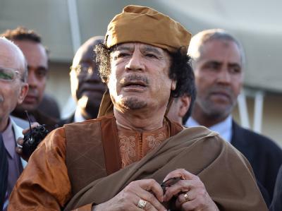 Gegen Gaddafi war Haftbefehl erlassen worden.