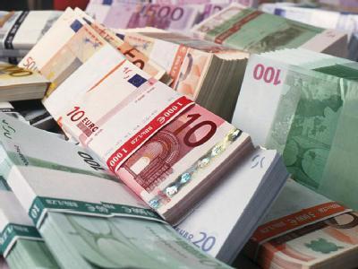 Banknoten in einer Schweizer Bank (Archivfoto).