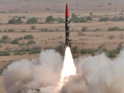Raketentest in Pakistan