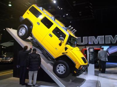 Altlasten wie die Marke Hummer sollen verkauft werden.