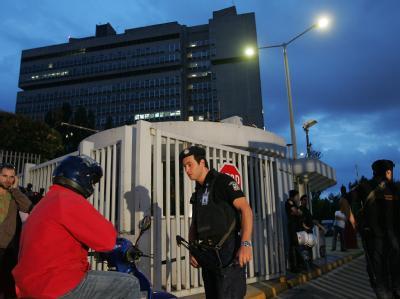 Im griechischen Ministerium für Zivilschutz ist es zu einem Bombenanschlag gekommen.