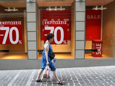 Wirtschaftskrise in Griechenland