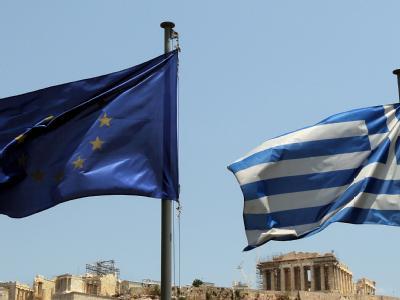 Dauerthema EU und Griechenland: Allein dieses Jahr müssen die Hellenen über drei Milliarden Euro sparen. Foto: Orestis Panagiotou