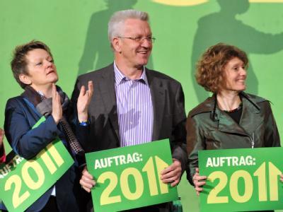 Grüne auf Erfolgskurs: 28 Prozent erhält die Partei nach dem neuen Forsa-Wahltrend von «Stern» und RTL  - nur drei Punkte weniger als die Union.