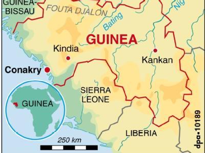 Im westafrikanischen Guinea hat die Polizei zahlreiche Demonstranten erschossen.