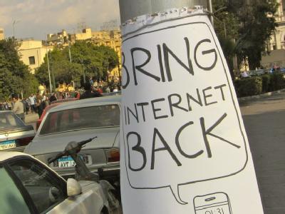Protest gegen Zensur