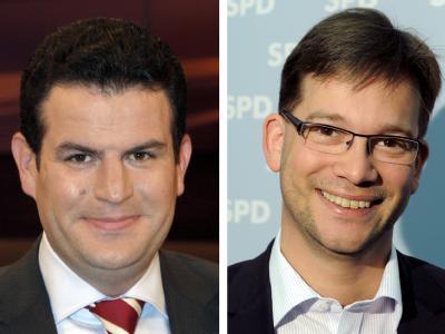 Hubertus Heil und Florian Pronold