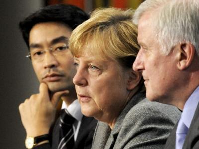 Die Liste der Streitpunkte ist lang: Auch beim Treffen der drei Parteichefs dürfte nicht alles abgeräumt werden. Foto: Maurizio Gambarini